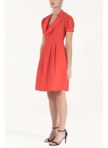 Societa Pilili Pamuk Elbise 91993 Kırmızı
